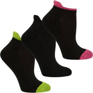 Fruit of the Loom Womens Cotton Stretch Low Cut Tab Socks   3 Pack