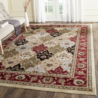 Safavieh Lyndhurst Collection Traditional Multicolor/Red Rug (8 x 11