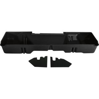 DU-HA Truck Storage System — GMC Sierra Extended Cab, Fits 2007-2013 Models, Black, Model# 10045  Interior Storage