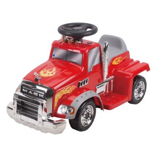 New Star Mack Truck Battery Powered Riding Toy   Red   Battery Powered