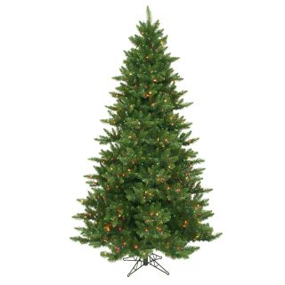 Vickerman 9.5 Camdon Fir Christmas Tree with 1150 LED Multi Colored
