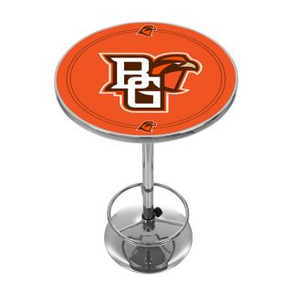 Bowling Green State University Chrome Pub Table   17725331