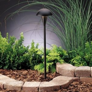 Kichler 15323BKT Eclipse Textured Black  Outdoor Fixtures Lighting