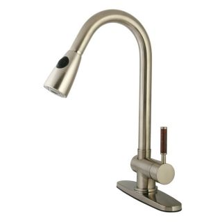 Kingston Brass GS8898DWL Satin Nickel Gs889 dwl Kitchen Faucet   Build
