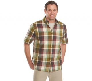 Mens Woolrich Red Creek Modern Fit Plaid Shirt    & Exchanges