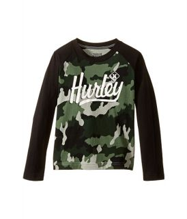Hurley Kids Athletic Raglan Tee (Little Kids)