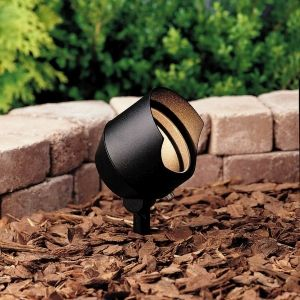 Kichler 15381BKT Universal Textured Black  Outdoor Fixtures Lighting