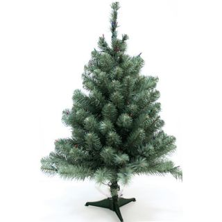 Good Tidings Tabletop Norway Spruce Blue Christmas Tree