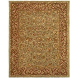 Safavieh Golden Jaipur Green/Rust 12 ft. x 18 ft. Area Rug GJ250A 1218