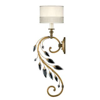 Fine Art Lamps 774850ST Antiqued Gold Leaf Wall Light
