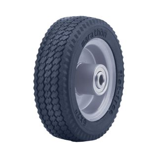 Marathon Tires Flat-Free Hand Truck Tire — 1/2in. Bore, 6in. x 2in., Sawtooth