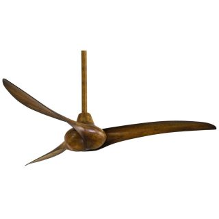 Minka Aire F843 Wave 52 Ceiling Fan with Hand Held Remote Control System   Blades Included