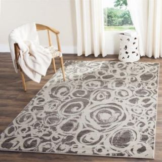 Safavieh Porcello Dark Grey/ Ivory Rug (8 x 112)