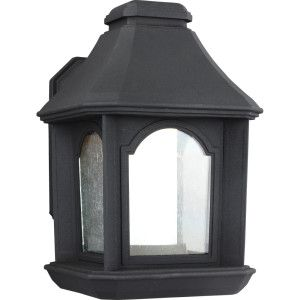 Feiss FEI OL11500TXB LED Ellerbee Textured Black  Outdoor Sconce Lighting