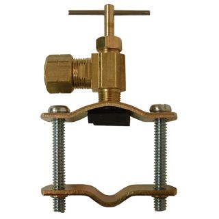 Watts 3/8 in Brass Compression In Line Straight Valve