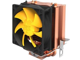PC Cooler Yellow Ocean Mini S83 Universal CPU Cooler 80mm Silent Cooling Fan For Intel Socket LGA1155/1156/1150/745/939/AM2/AM2+/AM3/FM1/FM2