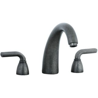 Cifial 295.650.D20 Stone Mountain Double Lever Handle Roman Tub Faucet in Distressed Nickel
