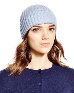 C by Cashmere Ribbed Hat