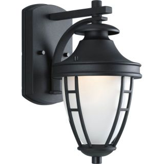 Progress Lighting P5775 31 Fairview Textured Black  Outdoor Sconce Lighting