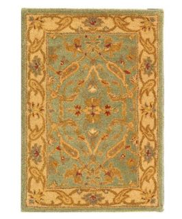 Safavieh Antiquities AT311B Area Rug   Teal/Beige   Area Rugs