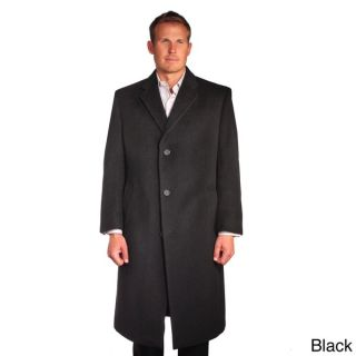 Jean Paul Germain Mens Wool/Cashmere Blend Sander Coat   14946075