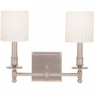 Hudson Valley 302 PN Palmer Polished Nickel  Wall Lamps Lighting