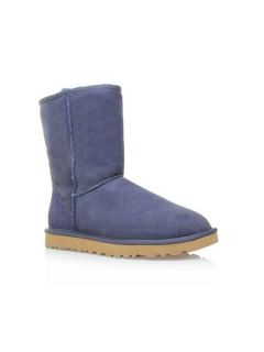 UGG Classic short fur lined boots Navy