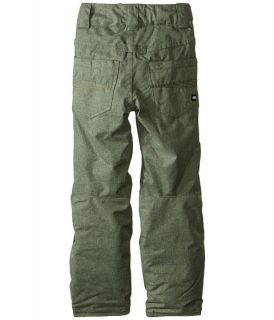 686 Kids Elsa Insulated Pants (Big Kids) Washed Olive Melange