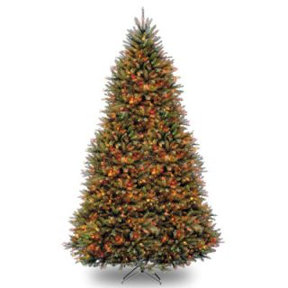 National Tree Co. Dunhill Fir 10 Hinged Green Artificial Christmas