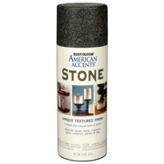 Rust Oleum American Accents 12 oz. Stone Granite Stone Textured Finish Spray Paint (6 Pack) 238323
