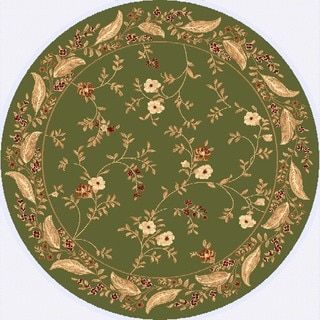 Safavieh Lyndhurst Collection Floral Sage Rug (5 3 Round)   10500897