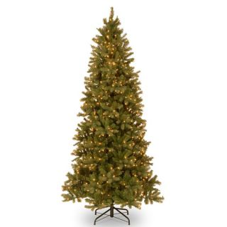 Feel Real Jersey Fraser Fir Slim Hinged 9 foot Tree with 1000 Clear