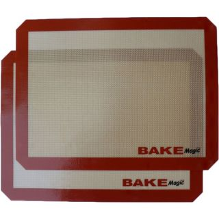 Bake Magic Silicone Reusable Non Stick Baking Mat   2 Pack   16788550